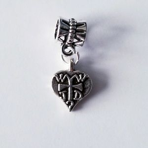 Jewelry - 🏷WWJD Cross Charm🏷2/$6